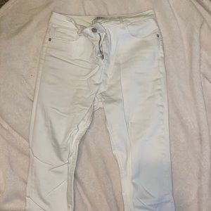 White NA-KD Skinny Jeans